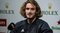 Stefanos Tsitsipas Speaks to the Press - October 12, 2019