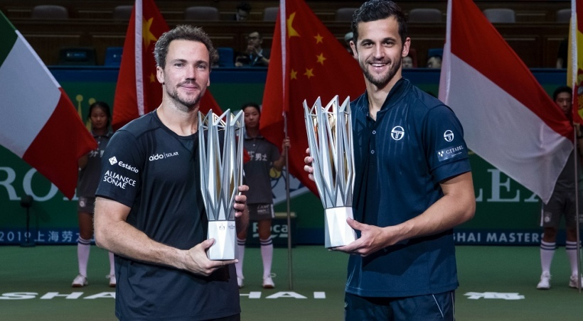 Bruno and Mate Claim Shanghai Doubles Crown